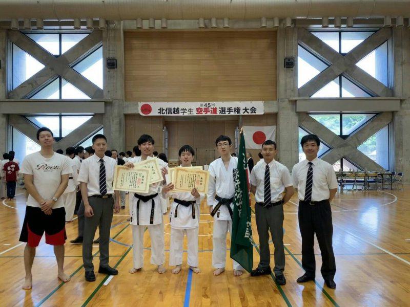 【インカレ出場】北信越学生大学空手道選手権大会
