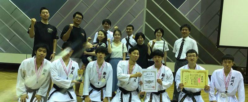【インカレ出場】北信越大学空手道選手権大会